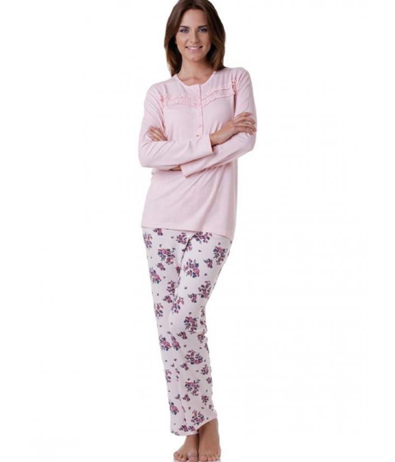 Fodros női pizsama