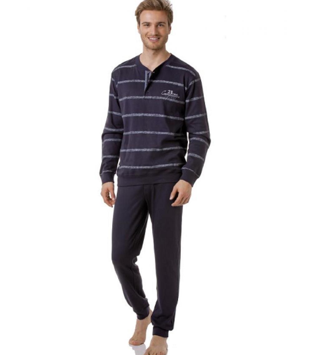 Gombos férfi pizsama 0ecec5d154