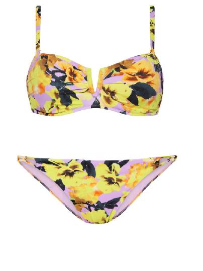 Virágoskert bikini Cyell