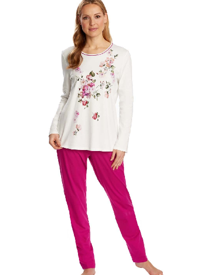 Virágos pizsama Rösch
