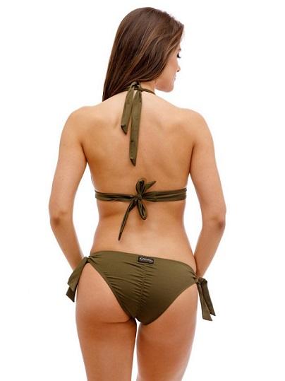 Oliva zöld summer vibes bikini Carib
